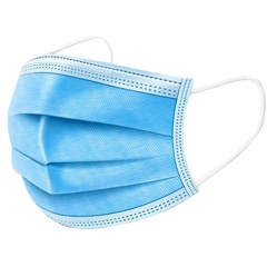 Disposable Facial Mask 50 packs, Triple Layer Design